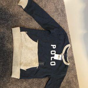 Kids Polo Sweatshirt